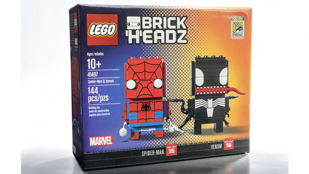 comicon brickheadz