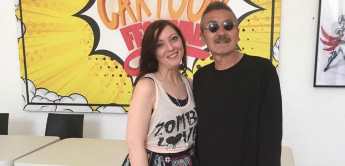 Roma Cartoon Festival camilla d'errico masami suda