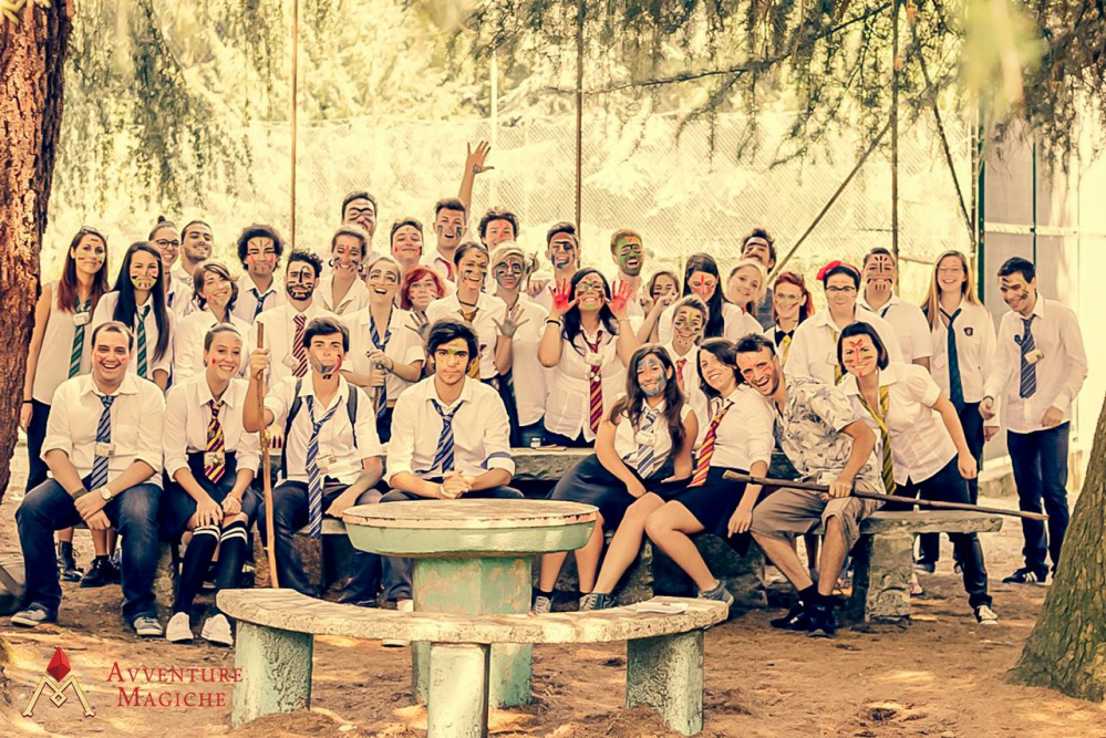 Gli studenti delle 4 Congreghe di Ambrolumio nella Foresta Perduta