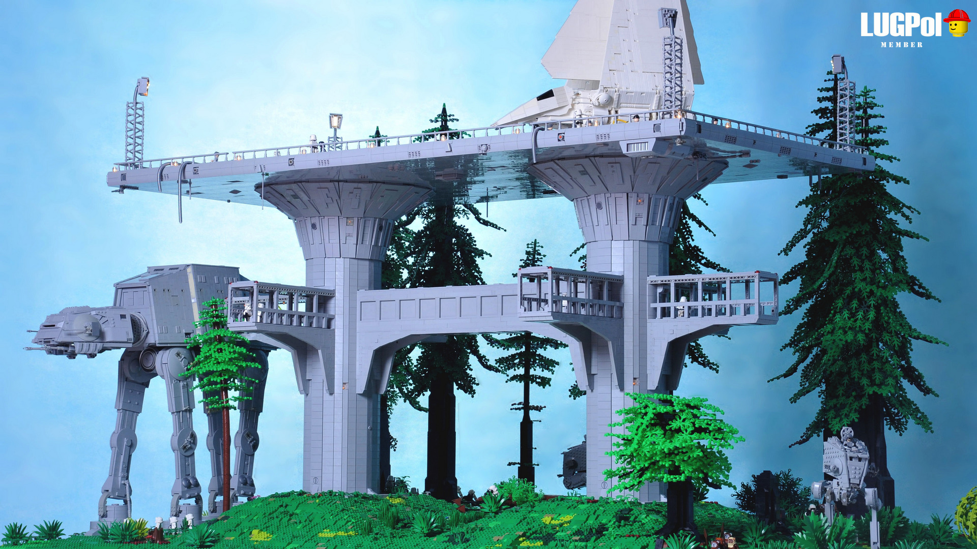 base imperiale endor lego