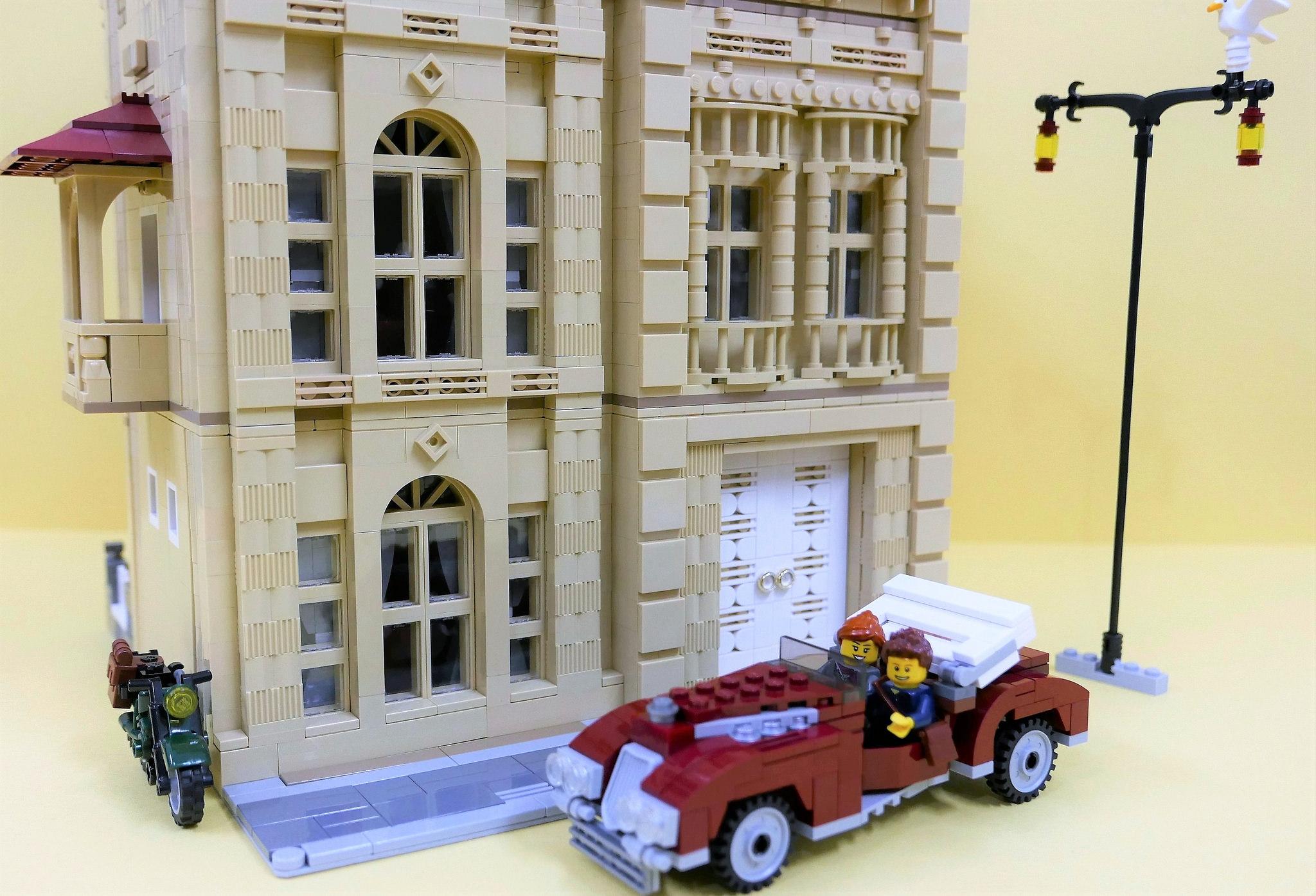 casa lego modulare