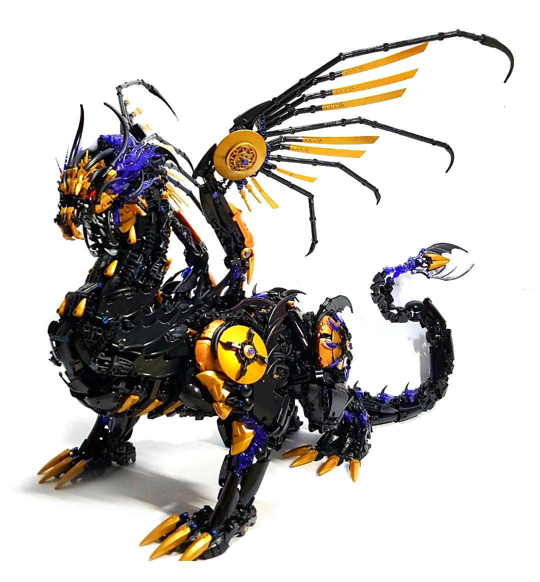 dragone lego