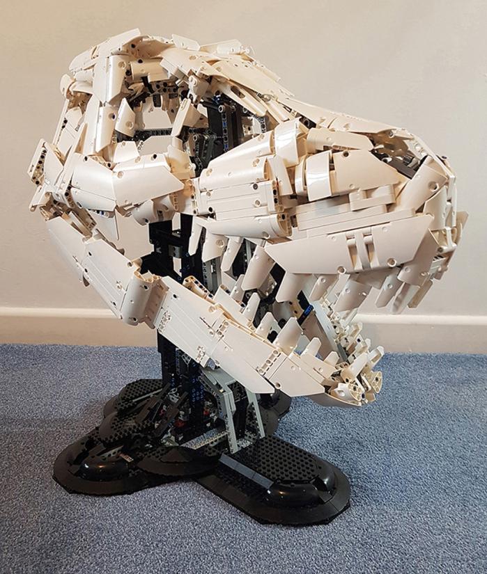 scheletro tirannosauro lego