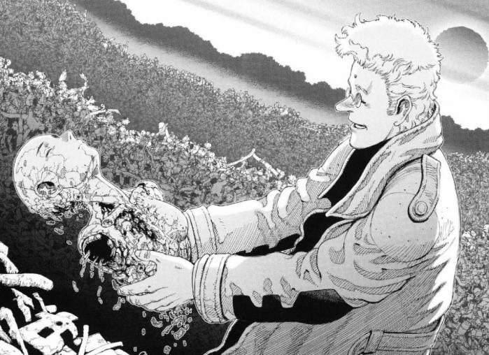 Alita l'angelo della battaglia manga Yukito Kishiro