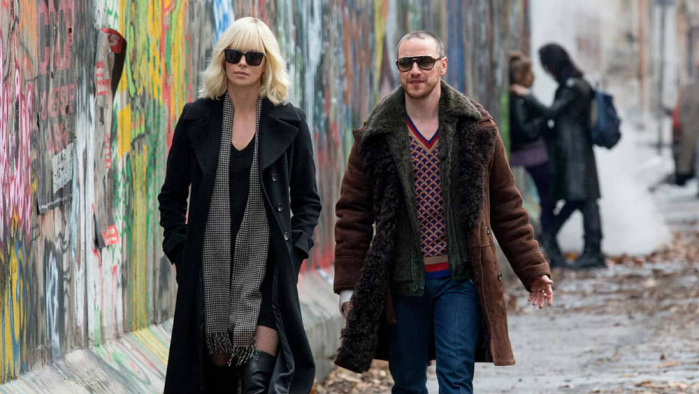 Atomica Bionda James Mcavoy Charlize Theron
