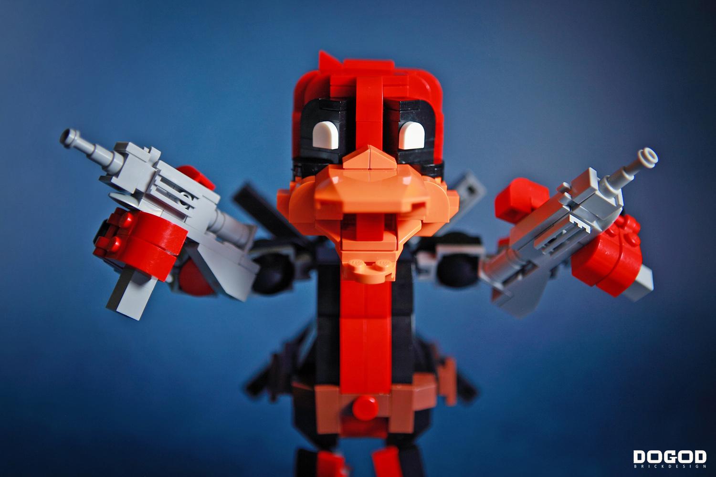 deadpool the duck lego