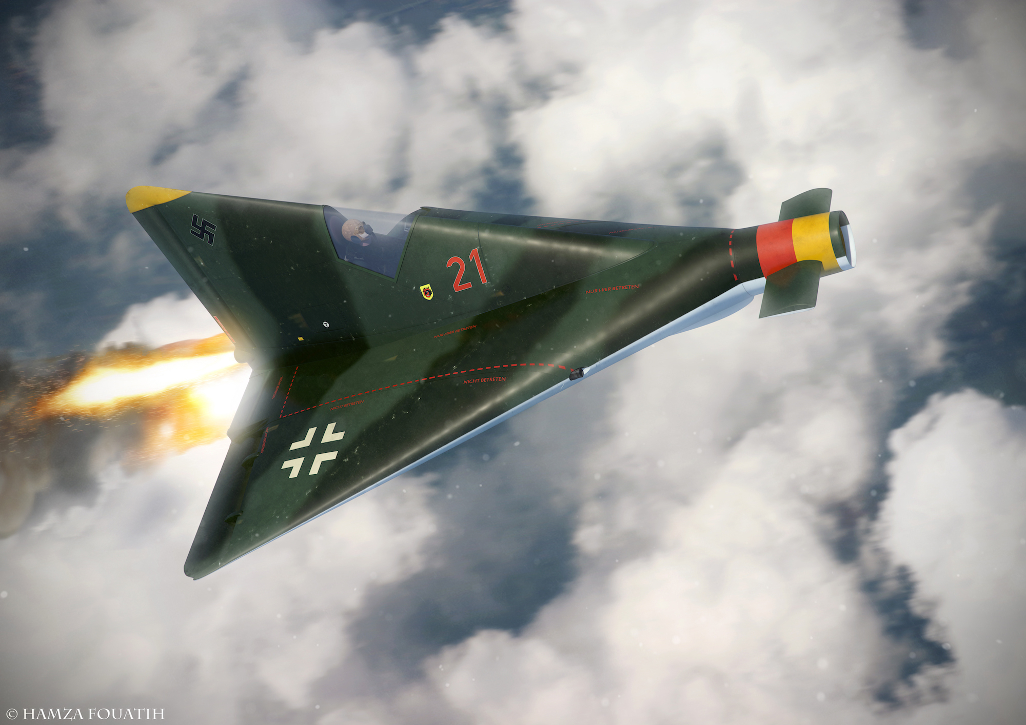 Wunderwaffen: i prototipi DFS
