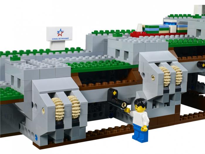 canale panama lego