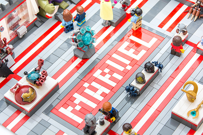 marvel museum lego