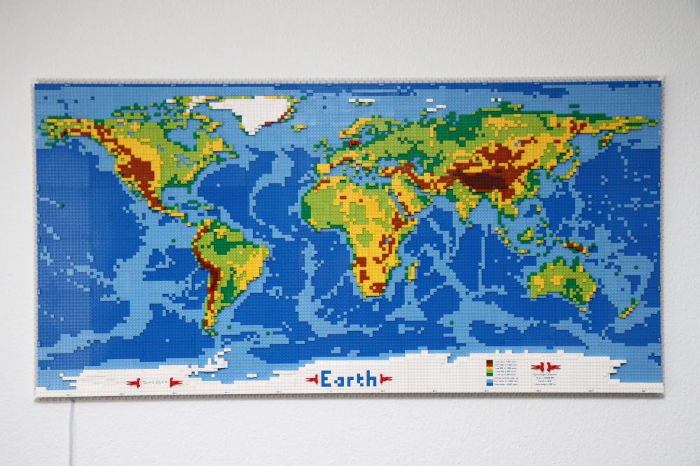 Cartina Del Mondo Con Meridiani E Paralleli.Tenete Traccia Delle Vostre Vacanze Su Questa Enorme Cartina