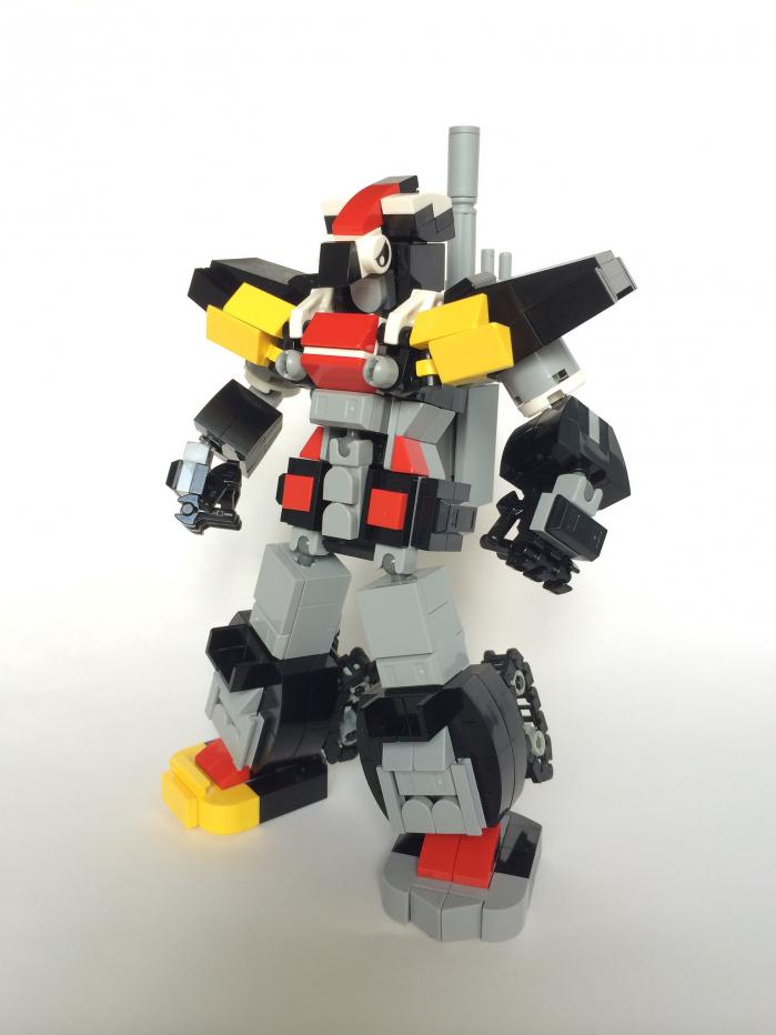 Super Robot Wars LEGO #LegaNerd