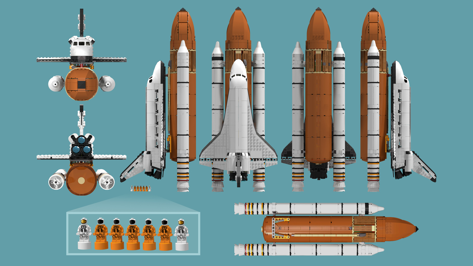 nasa new space shuttle design - HD1600×900