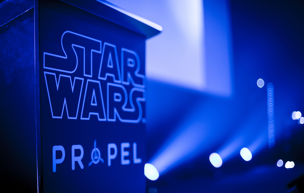 Propel lancia i droni elite da battaglia di Star Wars