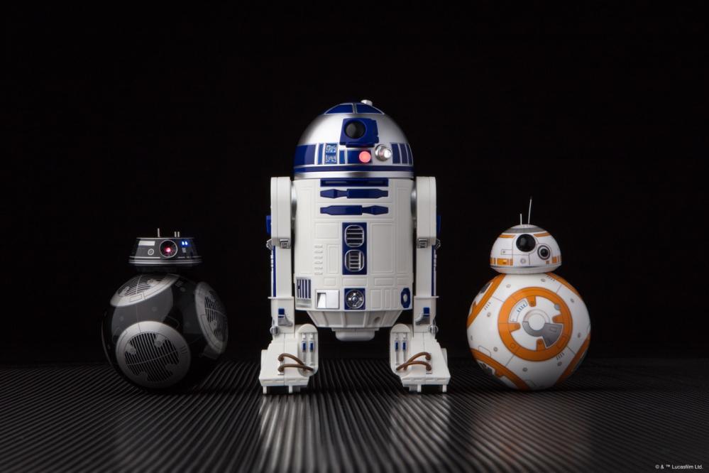 Sphero, da Star Wars arrivano i nuovi droidi R2D2 e BB-9E