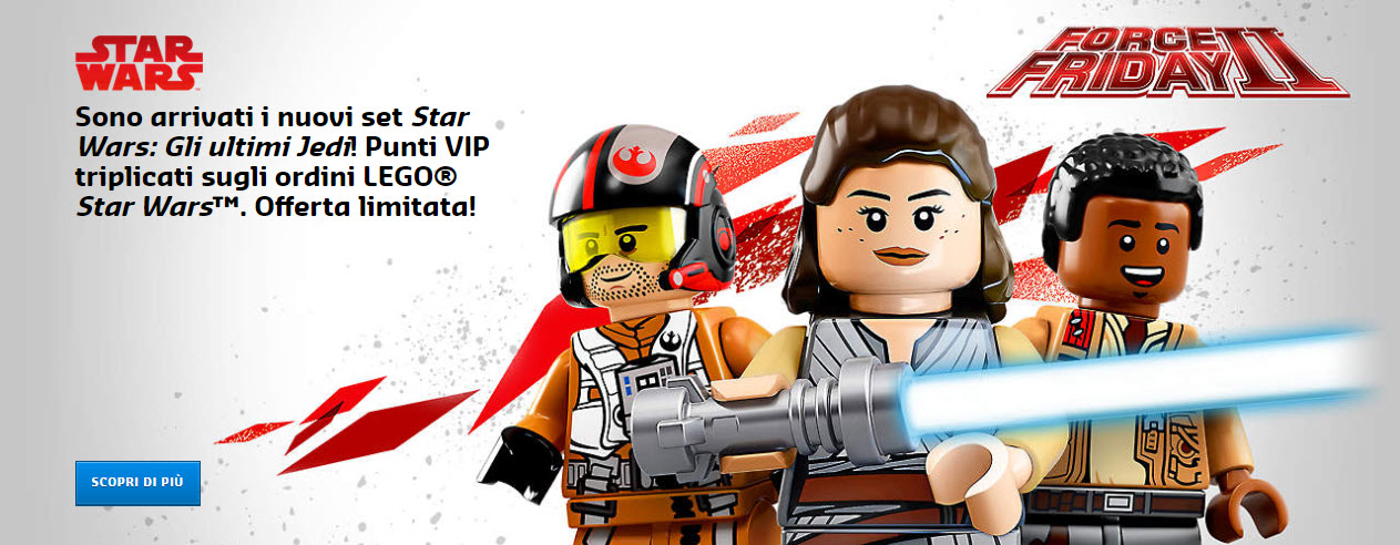 I set LEGO del Force Friday II ora disponibili