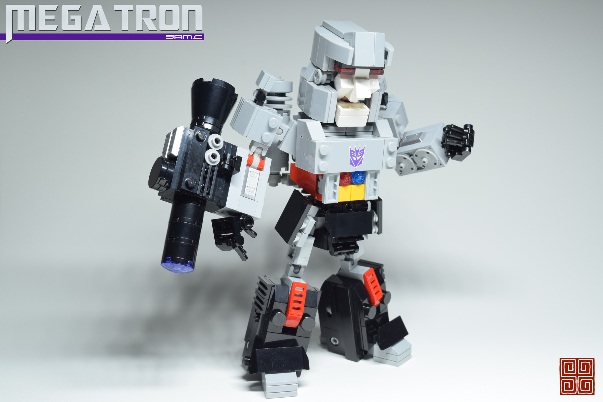 Megatron trasformabile super deformed LEGO #LegaNerd