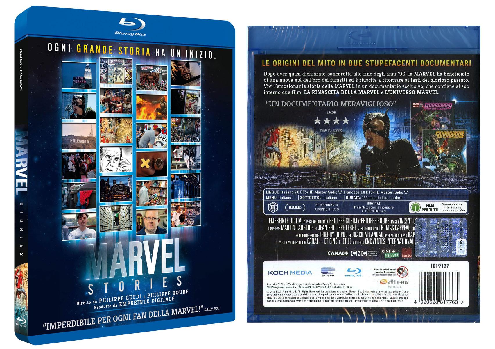 Marvel Stories, la raccolta di documentari su Marvel in DVD e Blu-Ray dal 14 settembre