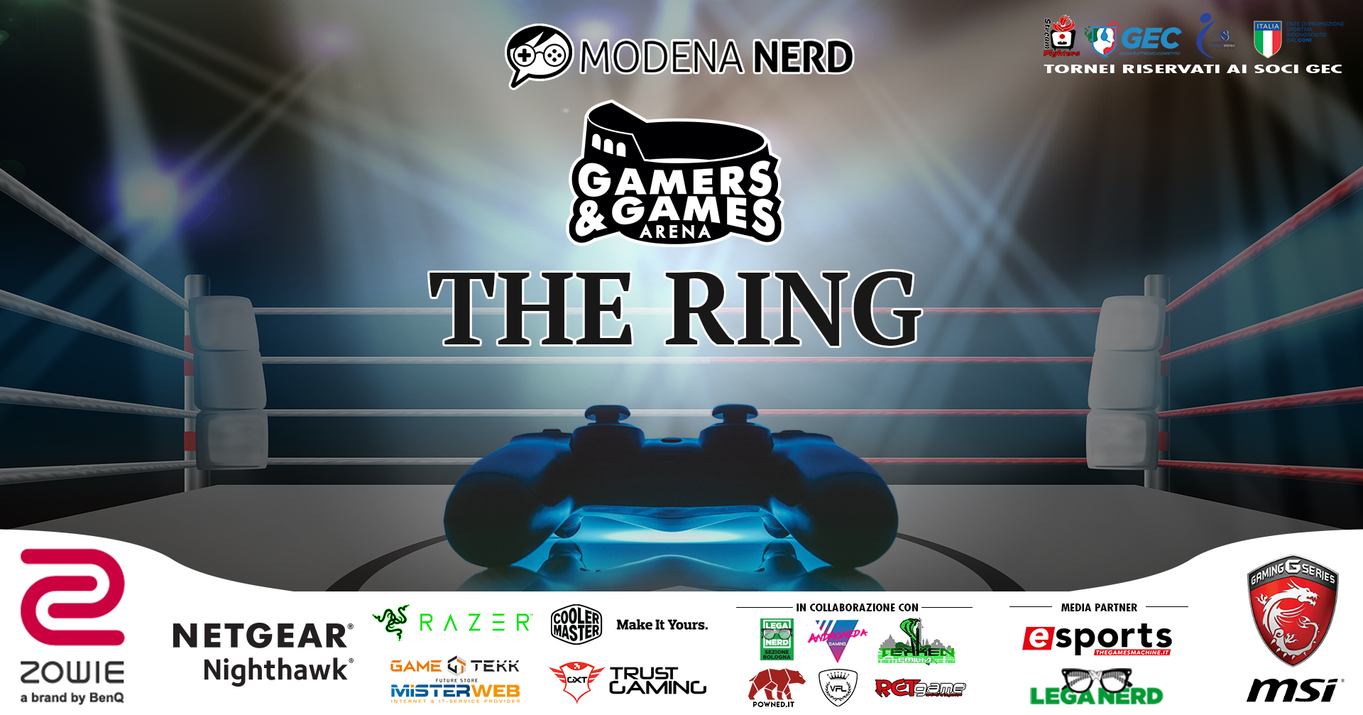 Gamers & Games: The Ring torna a Modena Nerd
