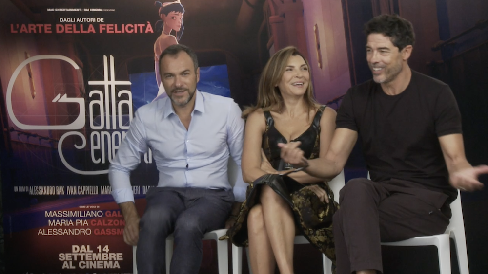 Gatta Cenerentola: la video intervista ai registi e al cast