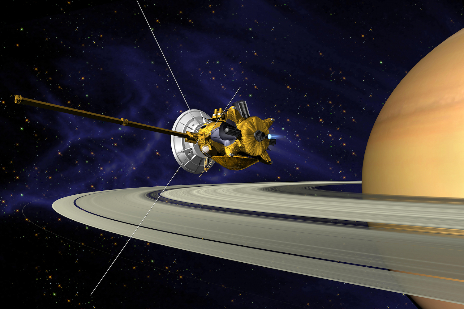 Goodbye, Cassini