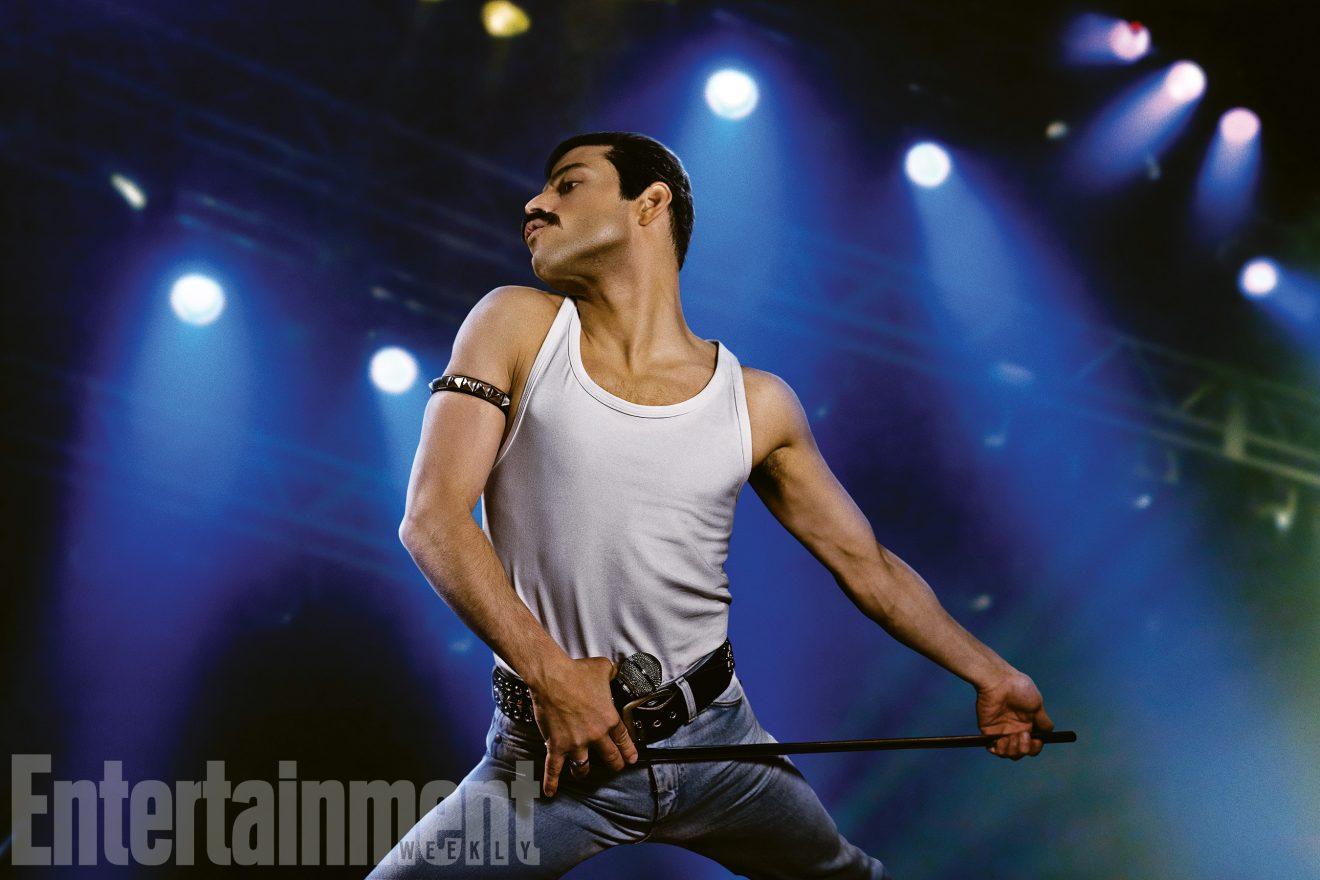 Ecco una prima foto di Rami Malek nei panni di Freddie Mercury