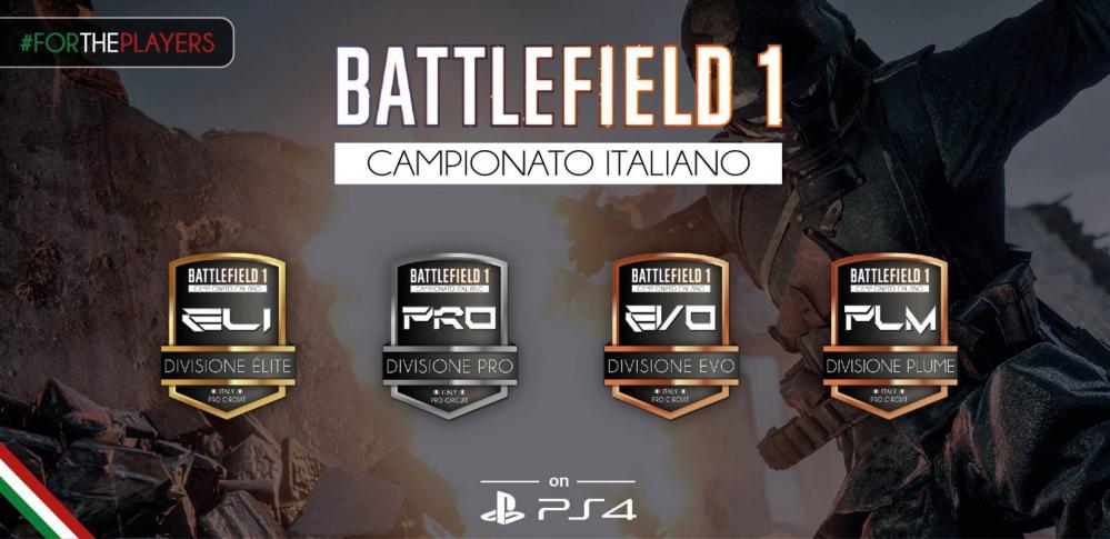 Campionato Italiano di Battlefield 1 – Recap 4a Giornata