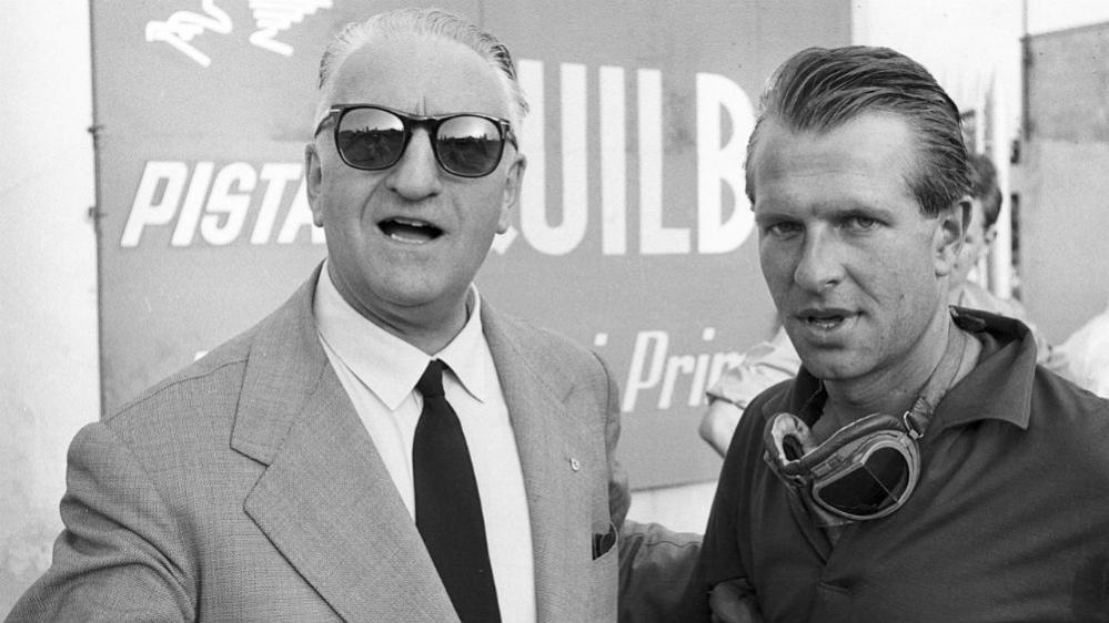 Ferrari: un mito immortale Enzo Ferrari Peter Collins