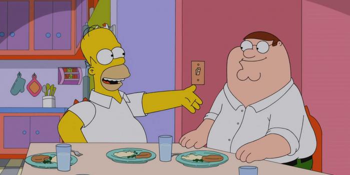 Simpson e Griffin insieme