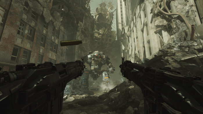 Mecha Wolfenstein II Manhattan