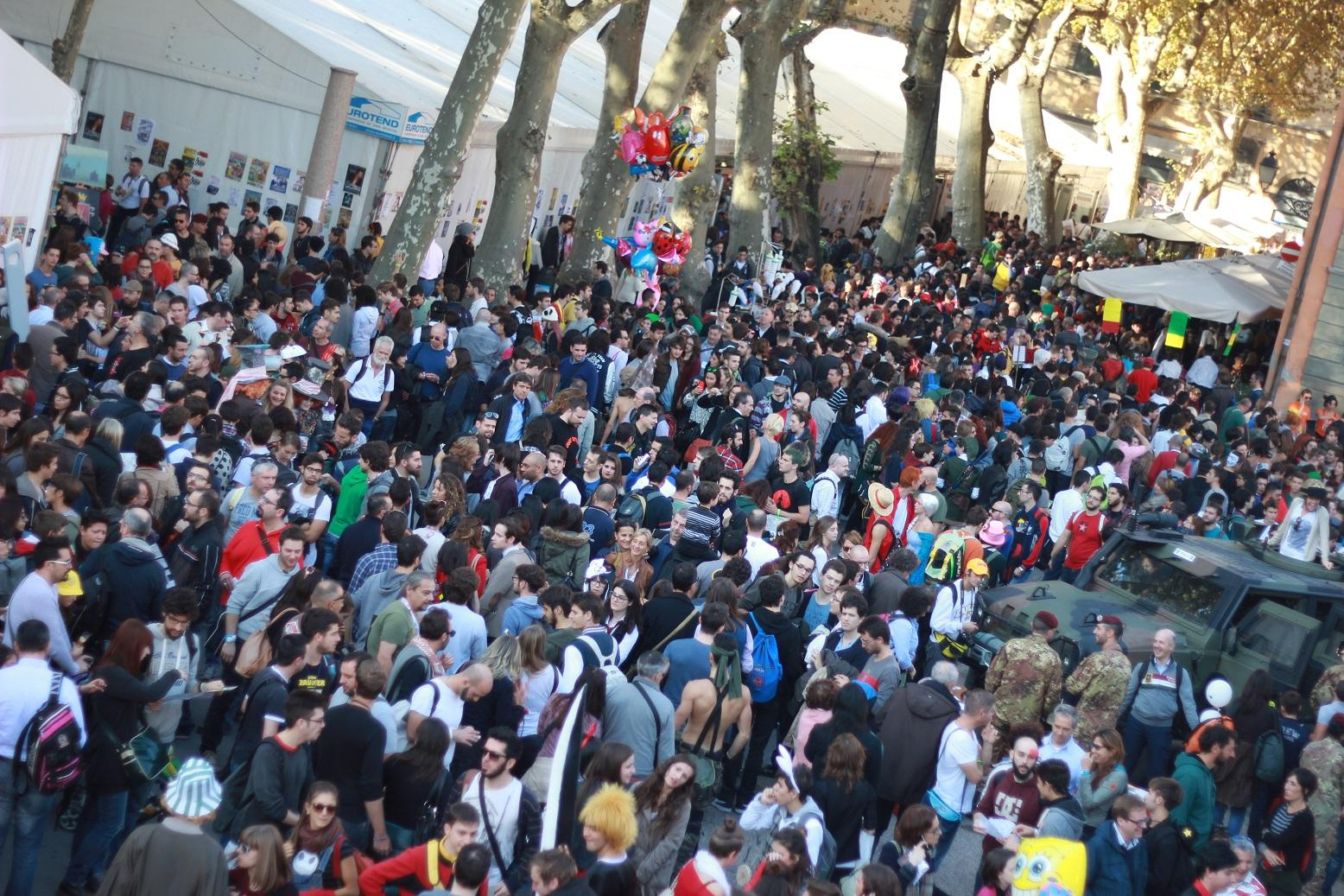 Tecnologia e videogames a Lucca 2017
