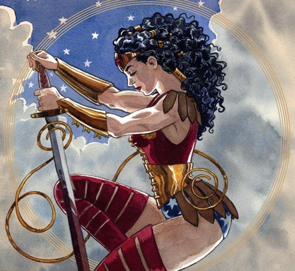 Il Trono del Re: L'amazzone, Wonder Woman