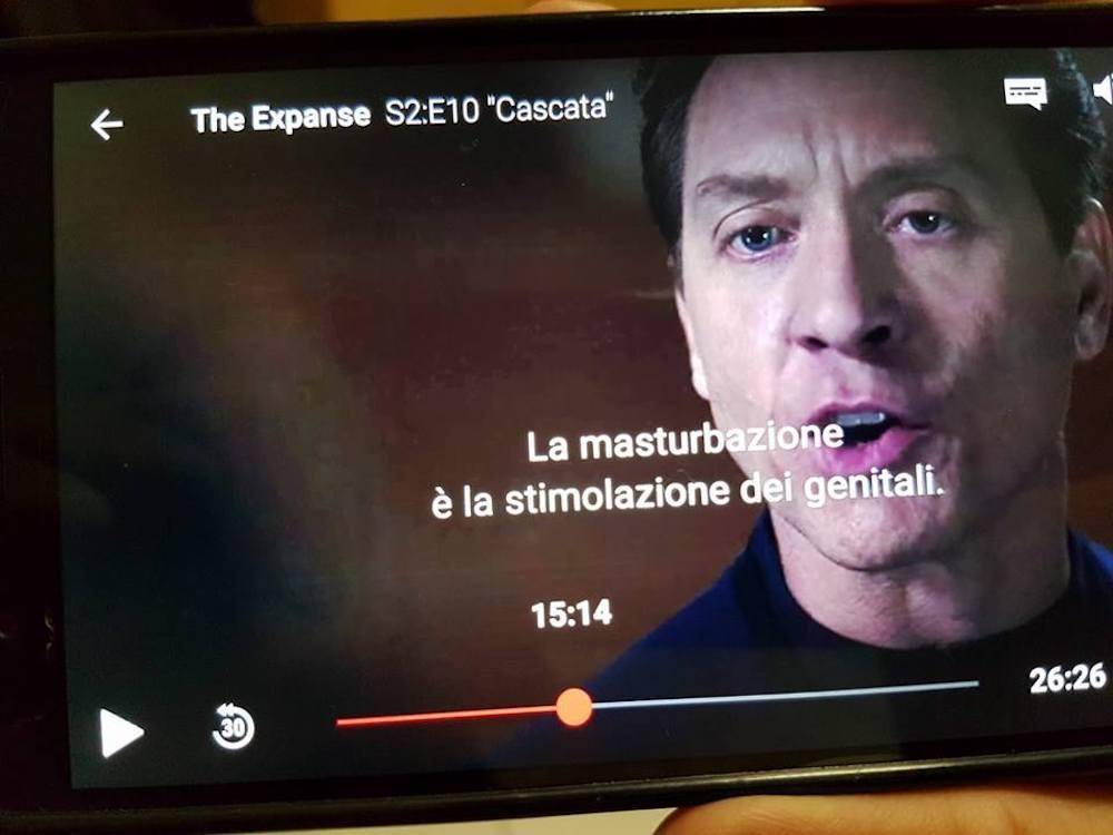 Strani messaggi in sovrimpressione stanno comparendo su Netflix Italia