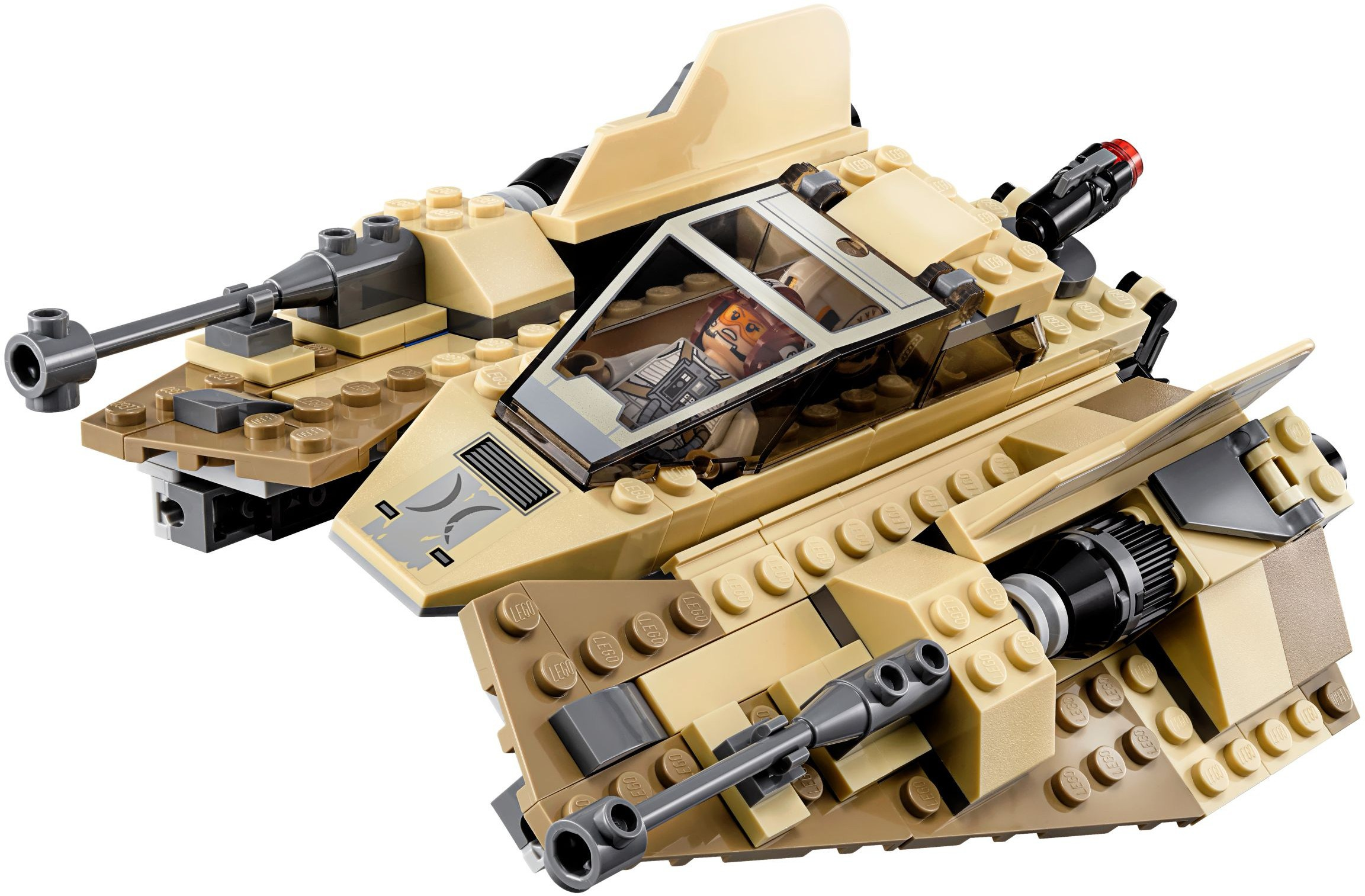 Nuovo set LEGO Star Wars 75204 Sandspeeder da The Last Jedi
