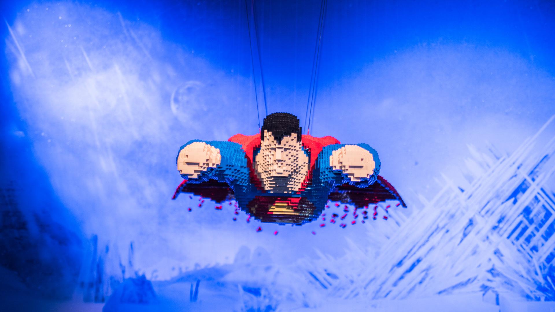 Nathan Sawaya in mostra a Roma con i DC Comics Super Heroes LEGO