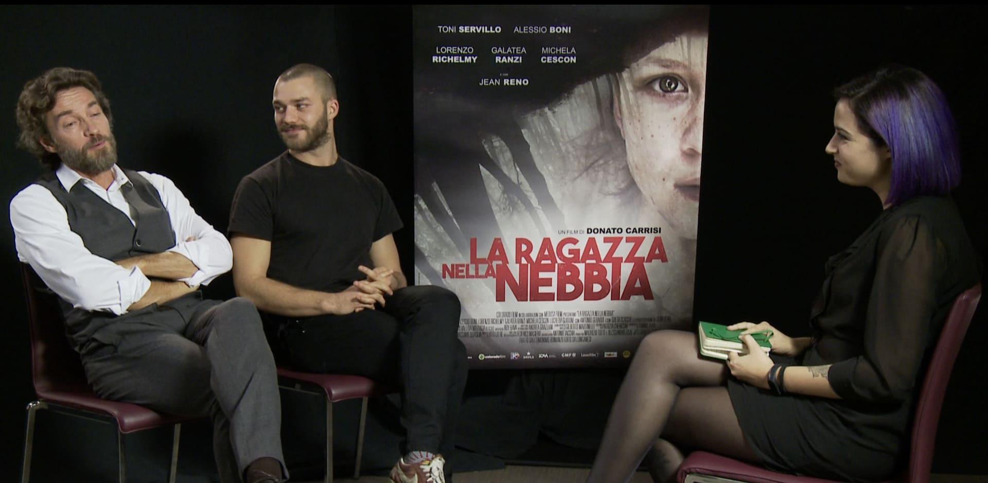 La Ragazza Nella Nebbia: video intervista ad Alessio Boni e Lorenzo Richelmy