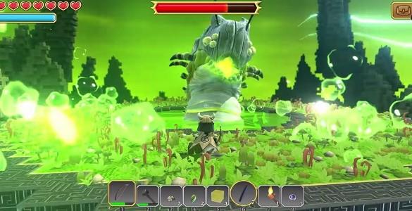Worm boss Portal Knights