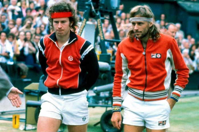 Borg McEnroe Wimbledon 1980