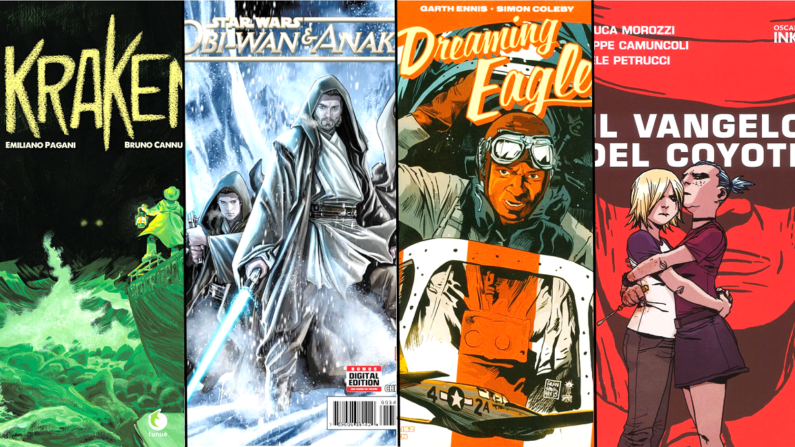 Il Trono Del Re: Top 4 fumetti Lucca Comics