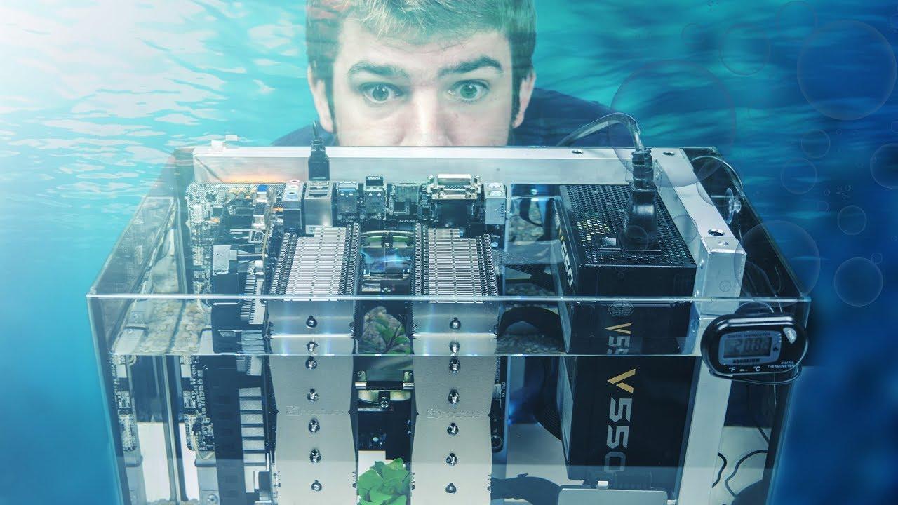 Mineral Oil PC: un computer dentro un acquario