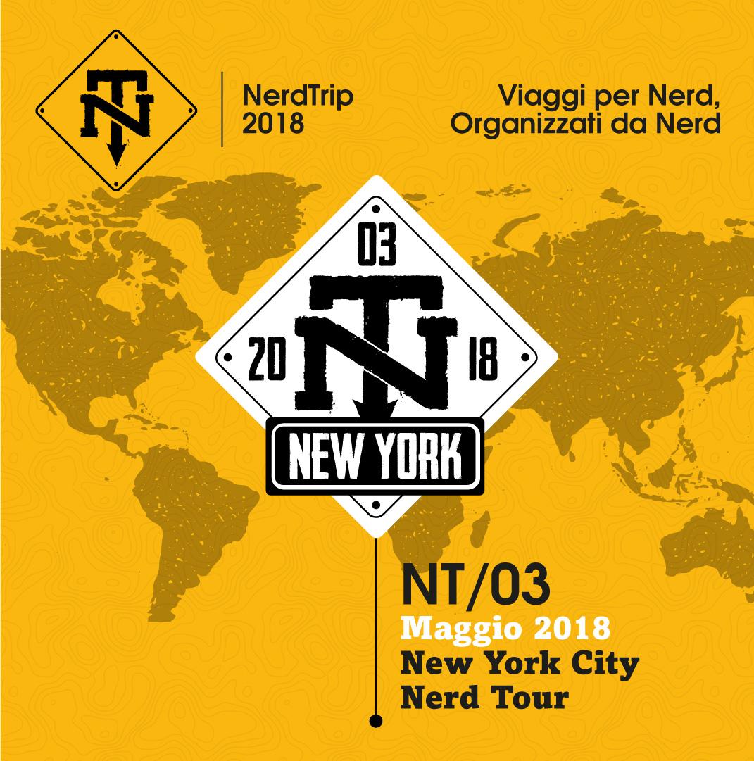 Svelato il secondo NerdTrip del 2018: si va a New York!