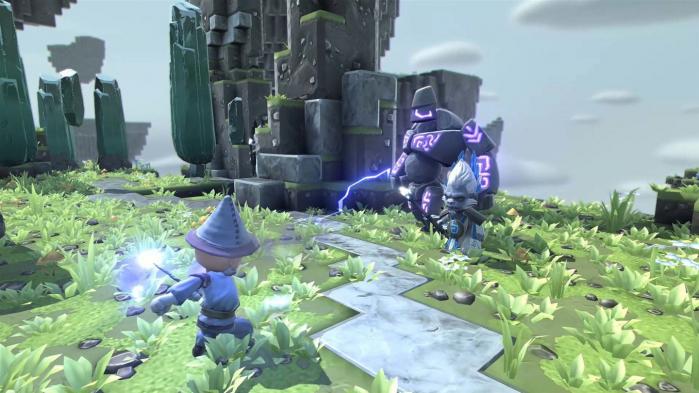 Combat System Portal Knights