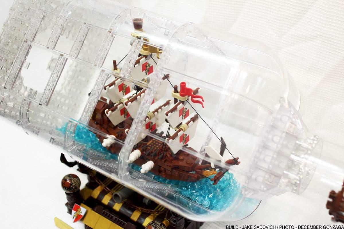 Disponibilità della nave in bottiglia LEGO Ideas