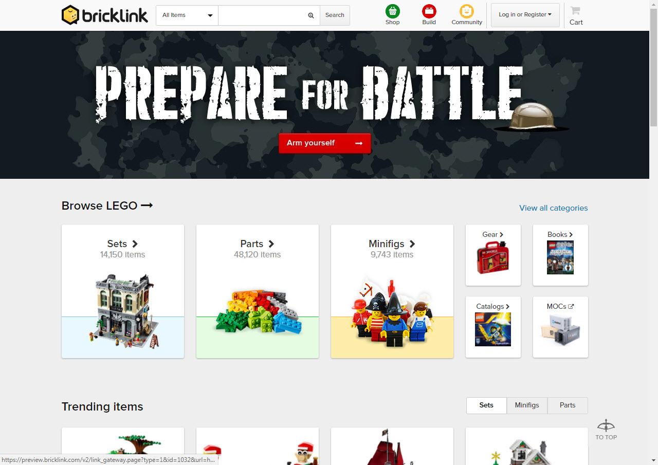 BrickLink venderà i prodotti BrickArms LEGO compatibili