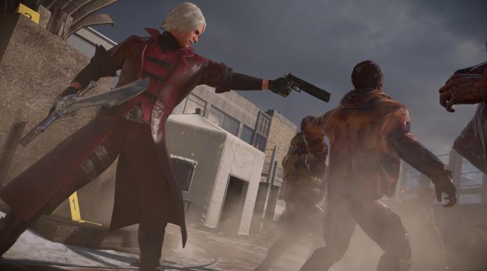 Dante Devil May Cry Dead Rising 4