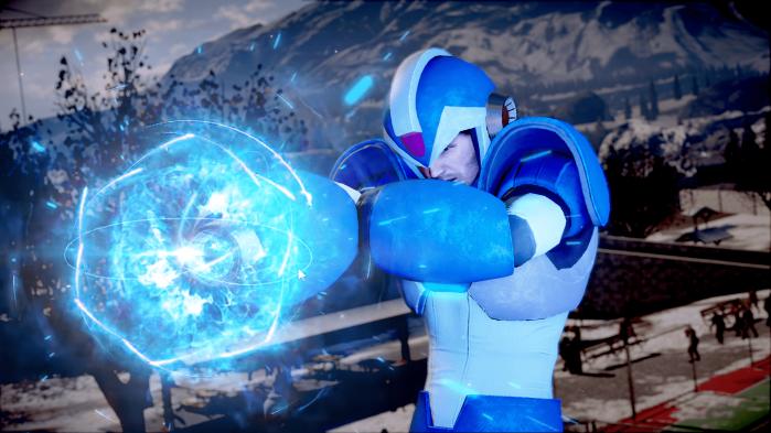 Megaman Frank West Dead Rising
