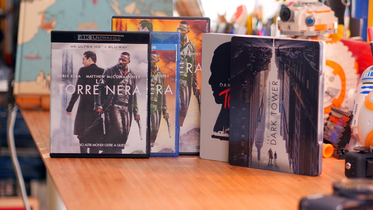 La Torre Nera: versioni Home Video DVD, Blu-Ray e Blu-Ray 4K