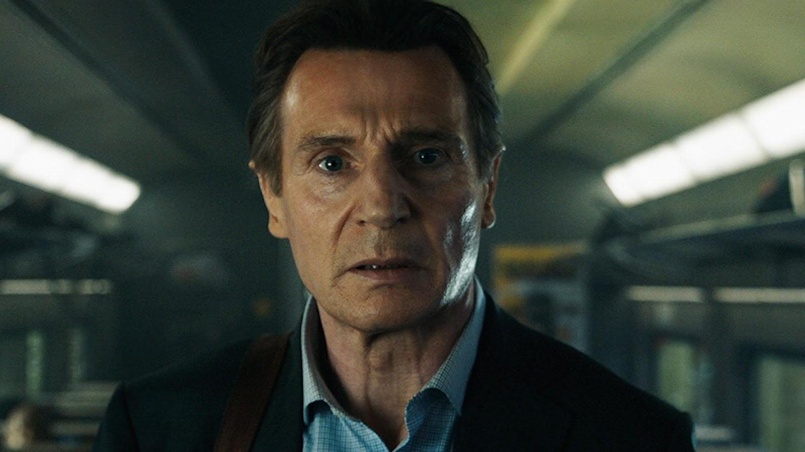 L'uomo sul treno: il poster ufficiale con Liam Neeson