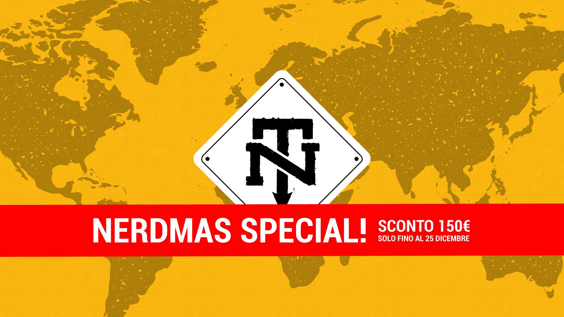 Nerdmas Special: 150€ di sconto sui nostri NerdTrip 2018!