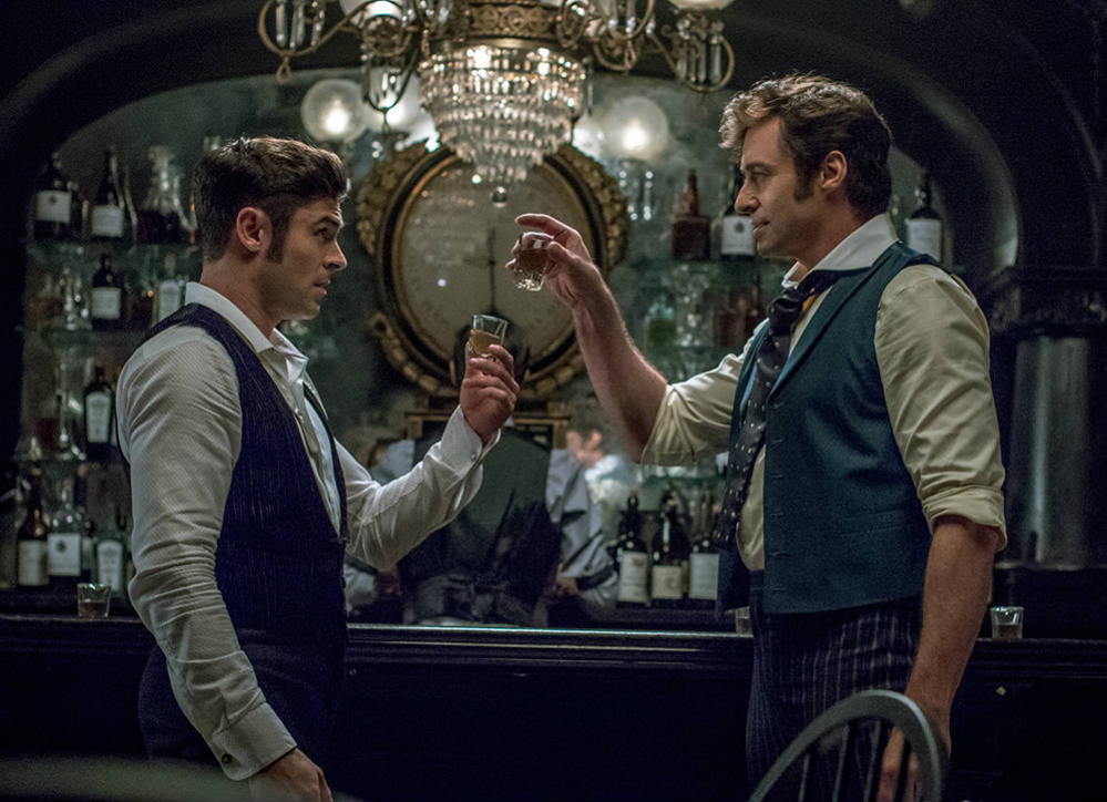 The Greatest Showman zac efron hugh jackman