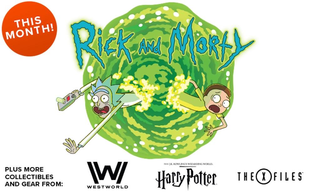 LootCrate: il tema di questo mese è Discovery, con Rick & Morty